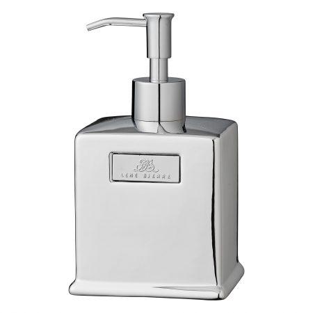 Dispenser bagno argento, Lene Bjerre - Shop Bottega delle idee