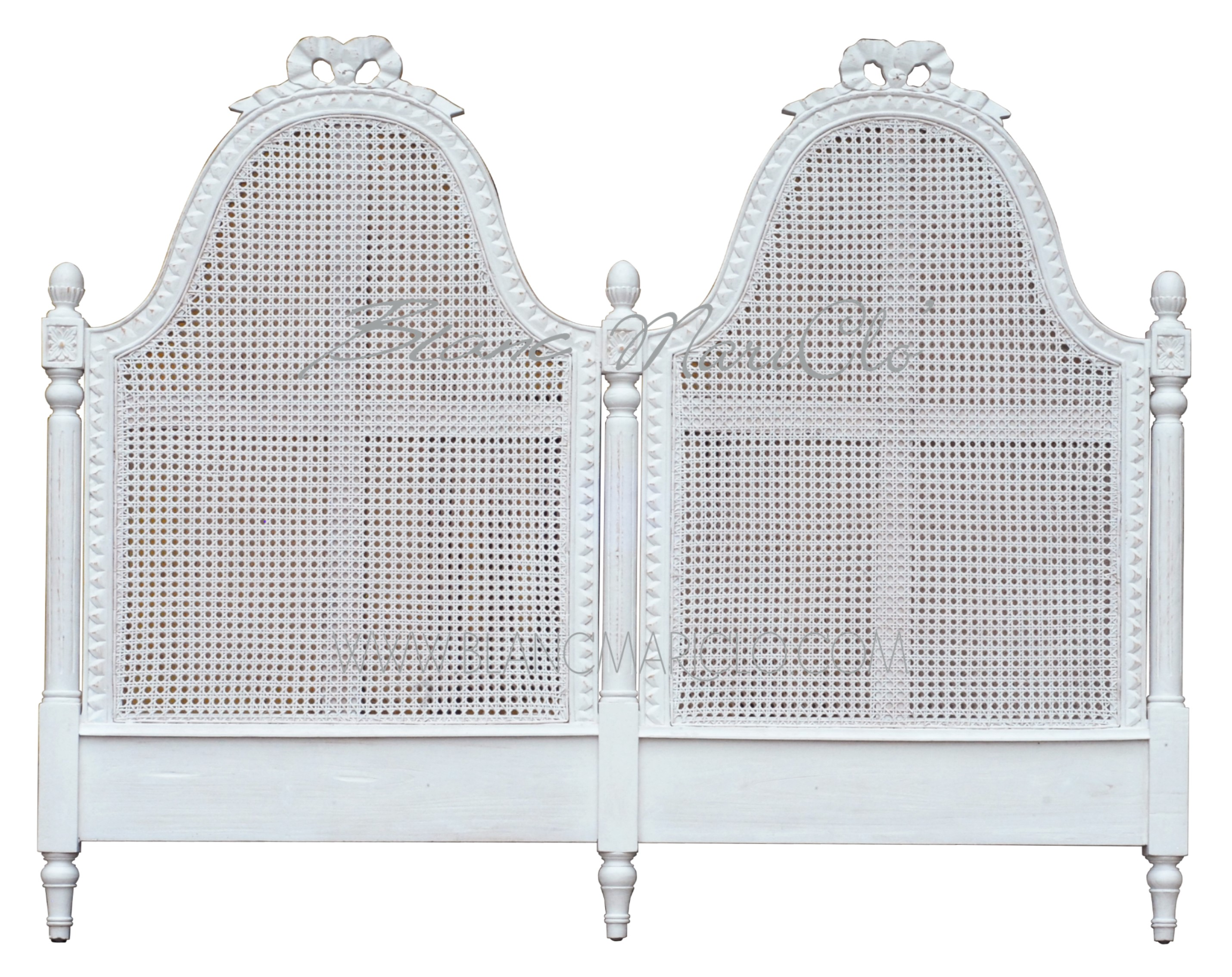 Schienale Letto Matrimoniale.Testata Letto Matrimoniale In Paglia Di Vienna Collezione Maria